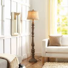 Sturdy Floor Lamp Better Homes And Gardens Rustic Floor Lamp Distressed Wood