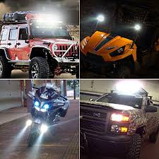 Led Lights For Jeeps Nilight 18w Cree Jeep Wrangler Led Lights