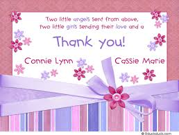 baby shower thank you card verse ideas shower party themes