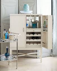 furniture thin bar cabinet bar glassware storage round bar
