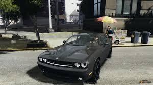Dodge Challenger Mods - challenger srt8 for gta 4