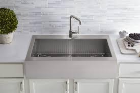 kohler farm sink faucets