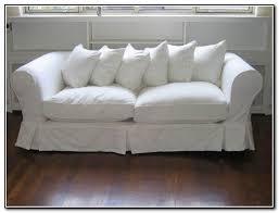 impressive slipcovers for sleeper sofas axis slipcovered 2 seat