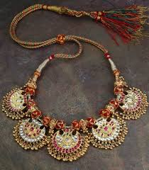 vintage necklace sets images Vintage kundan necklace set jpg