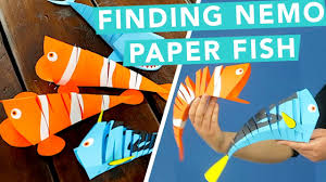 easy paper fish diy for kids nailed it youtube