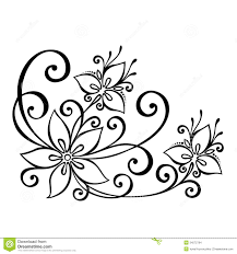 Decorative Flowers by Decorative Flower Leaves Beautiful Vector Patterned Design