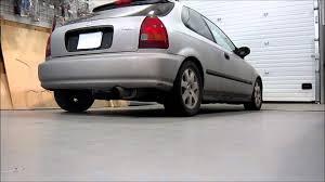 1996 honda civic hatchback cx 1996 honda civic hatchback magnaflow exhaust part 14814