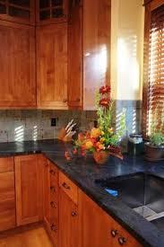 Granite With Cherry Cabinets In Kitchens Backsplash Ideas For Cherry Cabinets Kitchen Pinterest