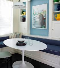 Nook Dining Table by Oval Breakfast Nook Table Gallery Including Furniture Retro Design