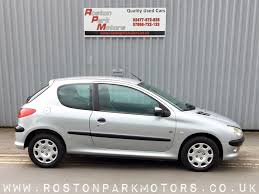 peugeot 206 coventry peugeot 206 cars for sale in coventry at