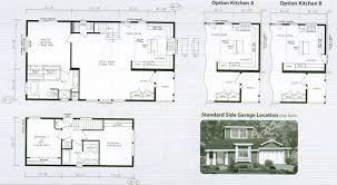 Floor Plans For 2 Story Homes by Two Story Manufactured Home Floor Plans