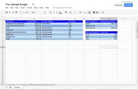 How To A Spreadsheet For Monthly Bills How To A Budget Spreadsheet That Makes Budgeting Cna
