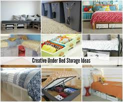 Cheap Organization Ideas Bedroom Closet Organization Ideas Bed Storage Storage Ideas And