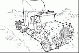 unbelievable mack truck coloring pages with fire truck coloring
