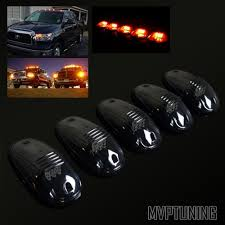 for truck 4x4 jeep led smoke lens cab roof clearance running