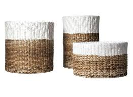 Basket Drawers For Bathroom Rattan Basket Storage U2013 Dihuniversity Com