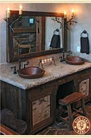 cabin bathrooms ideas cabin bathrooms cool log cabin bathroom vanities best log cabin