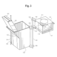 Built In Trash Compactor by Patent Us20140230669 Integrated Vehicle Galley Trash Compactor