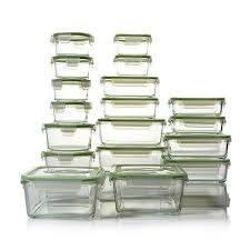 Food Storage Container Sets - kinetic glassworks 36 piece glass food storage set 7958614 hsn