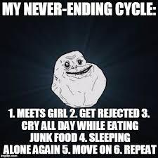 Forever Alone Girl Meme - forever alone meme imgflip