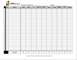 Basketball Stat Sheet Template Excel 9 Best Images Of Basketball Charts Printable Basketball