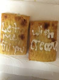 Creepy Toaster Strudel Kid Note To Self Never Let Boyfriend Decorate Toaster Strudels Again
