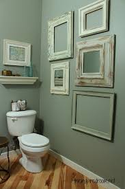 easy bathroom makeover ideas powder room take two 2nd budget makeover reveal the inspired room