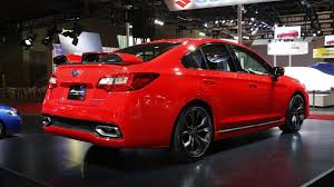red subaru legacy subaru legacy b4 blitzen concept revealed at tokyo auto salon