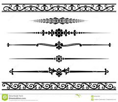 decorative elements stock vector image of pattern decoration