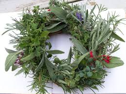 herb wreath the herb gardener how to make an herb wreath putting it all