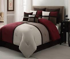 chic home regina 7 piece plush microsuede comforter set includes