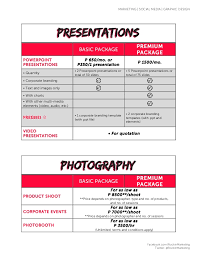 rockin marketing packages may2014