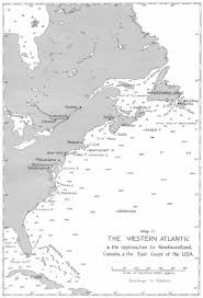 map of atlantic canada and usa battle of the atlantic 1941 approach to newfoundland canada usa