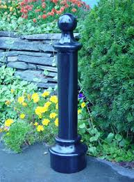 ornamental iron bollards us made by architectural iron company