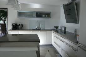 credence cuisine moderne design d intérieur credence tableau blanc top gallery of idees