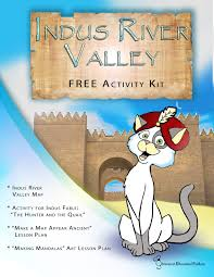 Map Of Indus River Glimmercat Our Free Indus River Valley Mini Activity Packet