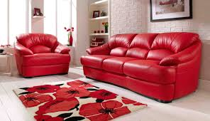 living room with red couch red alert how to decorate with white