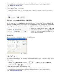 printable area change excel printing tips