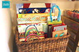 gift basket wrapping paper diy wrapping paper organizer