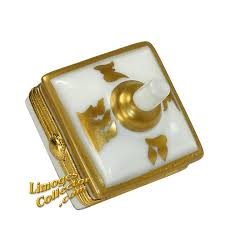 metal dreidel dreidel with 24k gold design retired limoges box limogescollector