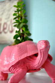 Turtle Planter Little Bit Funky 20 Minute Crafter Dino Toy Into Planter
