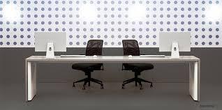 long desk for 2 white office desks tre 2 person bench desk fantoni uk
