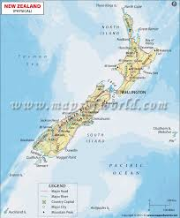 zealand on map zealand physical map physical map of zealand