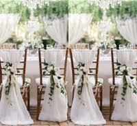 Chiffon Chair Sash Buy Champagne Chair Covers Online At Low Cost From Chair Covers