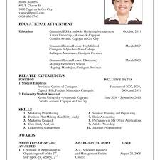 how to create a resume template resume template builder for high school students to get ideas how