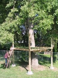 basic treehouse plans free