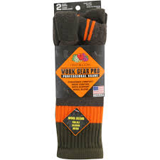 fruit of the loom mens work gear pro boot socks 2 pack walmart com
