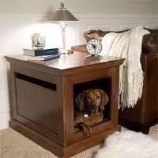 Wooden Crate Nightstand Nightstand Dog Crate Foter