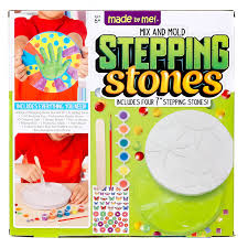 amazon com made by me mix u0026 mold your own stepping stones by