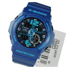 light blue g shock watch g shock men s ga310 classic series quality watch blue one size